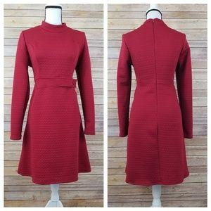 Modcloth L LARGE and XL Chevron Impression Dress